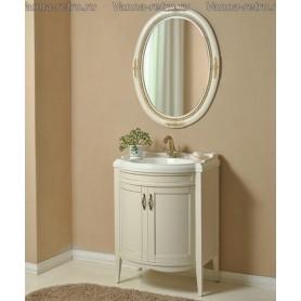 Мебель для ванной Атолл Неаполь 73 (слоновая кость / патина золото)