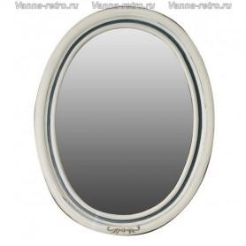Зеркало Атолл Флоренция (слоновая кость / синяя патина)