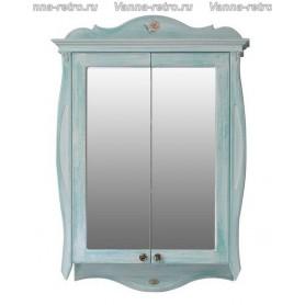 Зеркальный шкаф Атолл Ривьера (heaven / небесно голубой)