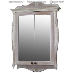 Зеркальный шкаф Атолл Ривьера (daisy / ромашки)
