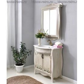 Мебель для ванной Атолл Ривьера (daisy / ромашки) ➦ Vanna-retro.ru