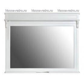 Зеркало Атолл Марсель New 110 (белый матовый)
