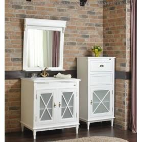 Мебель для ванной Атолл Марсель 285 (белый матовый) ➦ Vanna-retro.ru