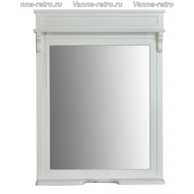 Зеркало Атолл Марсель New 165 (белый матовый)
