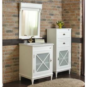 Мебель для ванной Атолл Марсель 265 (белый матовый) ➦ Vanna-retro.ru