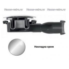 Сифон для поддона Cezares CZR-01 хром (диаметр 90 мм) ➦ Vanna-retro.ru