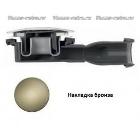 Сифон для поддона Cezares CZR-02 бронза (диаметр 90 мм) ➦ Vanna-retro.ru
