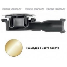 Сифон для поддона Cezares CZR-03 золото (диаметр 90 мм) ➦ Vanna-retro.ru