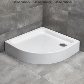 Поддон для душа Radaway Laros A Compact 85х85 ➦ Vanna-retro.ru