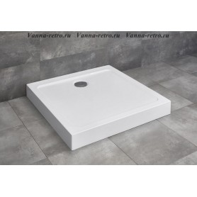 Акриловый поддон для душа Radaway Doros C Compact 100х100 ➦ Vanna-retro.ru