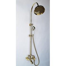 Душевая стойка Magliezza Classico 1201-do цвет золото, лейка
