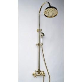 Душевая стойка Magliezza Classico 12053-do цвет золото, лейка