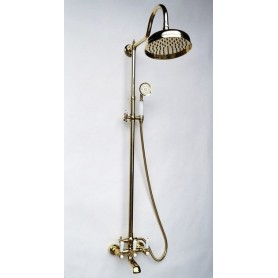 Душевая стойка Magliezza Bianco 11023-do цвет золото, лейка