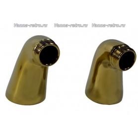 Полуколонны для смесителя на ванну Magliezza 937-do золото -