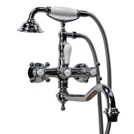 Смеситель для ванны Magliezza Classico 50606-3-cr хром -