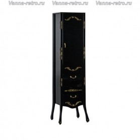 Пенал Акванет Виктория 40 (черный с золотом) ➦ Vanna-retro.ru