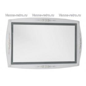 Зеркало Акванет Виктория 120 (белый с золотом)