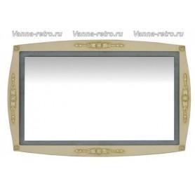 Зеркало Акванет Виктория 120 (олива) ➦ Vanna-retro.ru