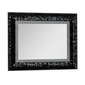 Зеркало Aquanet Мадонна 90 черный ➦ Vanna-retro.ru