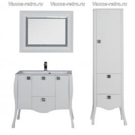 Мебель для ванной Акванет Мадонна 90 (белый)