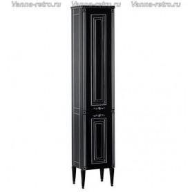Пенал Акванет Паола 40 (черный с серебром)