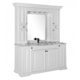 Комплект мебели Акванет Кастильо 160 (белый) ➦ Vanna-retro.ru