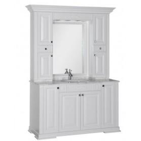 Комплект мебели Акванет Кастильо 140 (белый) ➦ Vanna-retro.ru