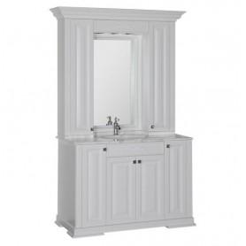 Комплект мебели Акванет Кастильо 120 (белый) ➦ Vanna-retro.ru