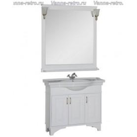 Мебель для ванной Акванет Валенса 100 (белый матовый)