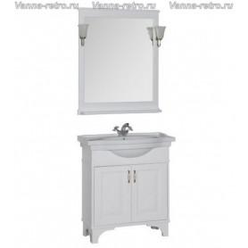 Мебель для ванной Акванет Валенса 80 (белый матовый)