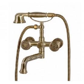 Смеситель для ванны Bronze de Luxe 10119P (бронза) ➦ Vanna-retro.ru