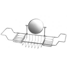 Полка решетка на ванну с оптическим зеркалом Migliore ML.COM