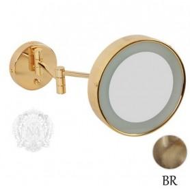 Зеркало оптическое с подсветкой Migliore ML.COM 50.361 бронза