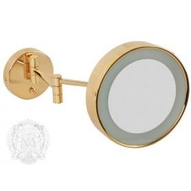 Зеркало оптическое с подсветкой Migliore ML.COM 50.336 золото -