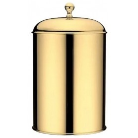 Ведро 5л. для мусора Bagno Associati Regency RE91552 золото ➦ Vanna-retro.ru