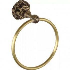 Полотенцедержатель Bronze De Luxe K25004 ➦ Vanna-retro.ru