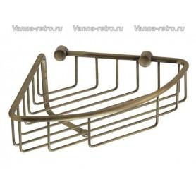 Полка решетка угловая Veragio Gifortes VR.GFT-9055.BR ➦ Vanna-retro.ru