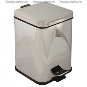 Ведро для мусора квадратное Veragio Gifortes VR.GFT-9021.CR