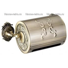 Бумагодержатель Hayta Gabriel Classic Bronze 13903 ➦ Vanna-retro.ru