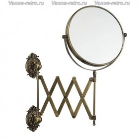 Зеркало косметическое Hayta Gabriel Classic Bronze 13992 ➦ Vanna-retro.ru