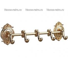 Планка с 5-ю крючками Hayta Gabriel Classic Gold 13902-5 ➦ Vanna-retro.ru