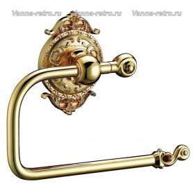 Держатель туалетной бумаги Hayta Gabriel Classic Gold 13903-1 ➦ Vanna-retro.ru