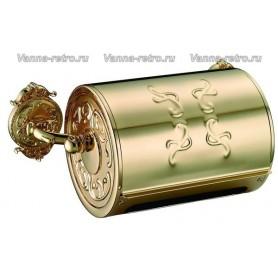 Держатель туалетной бумаги Hayta Gabriel Classic Gold 13903 ➦ Vanna-retro.ru