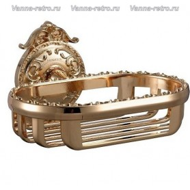 Мыльница решетка Hayta Gabriel Classic Gold 13904 ➦ Vanna-retro.ru