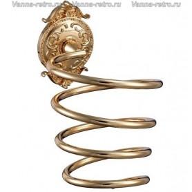 Держатель фена Hayta Gabriel Classic Gold 13908-2 ➦ Vanna-retro.ru