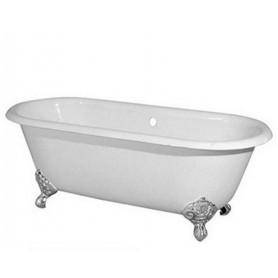 Чугунная ванна Magliezza Patricia (ножки хром) 168х76,5