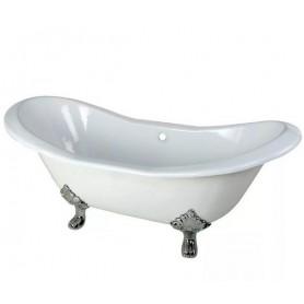 Чугунная ванна Magliezza Julietta (ножки хром) 183х78 ➦ Vanna-retro.ru