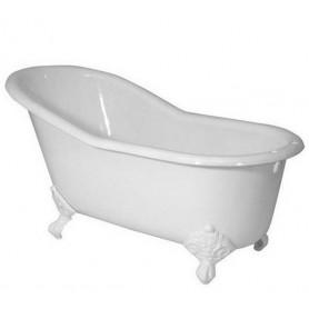 Чугунная ванна Magliezza Gracia (ножки белые) 170х76 ➦ Vanna-retro.ru