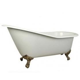 Чугунная ванна Magliezza Gracia (ножки бронза) 170х76