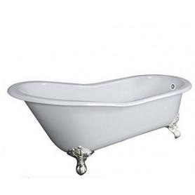 Чугунная ванна Magliezza Gracia (ножки хром) 170х76